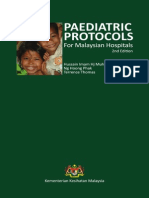 34481330 Paediatric Protocols for Malaysian Hospitals