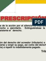 7 Sesión Prescripcion de La Obligacion Tributaria