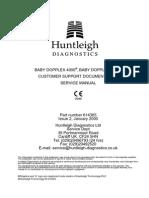 Huntleigh BD4000 Fetal Monitor - Service Manual