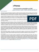 Líder Grupo Constructor crece en forma ssutentable con SAP