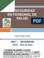 Bioseguridad en Personal de Salud