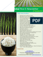 12th November,2014 Daily Global Rice E-Newsletter by Riceplus Magazine