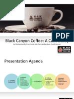 Draft Black Canyon Coffee Case Study