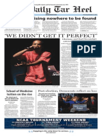 The Daily Tar Heel for Nov. 13, 2014