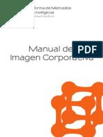 Manual Imagen Corporativa Plataforma Mercados Biotecnologicos