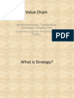 SCM 1 Value Chain Porter