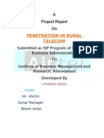 Penetrarion in Rural Telecom