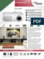 2238 HD25-LV Optoma Datasheet Web