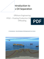 Introduction to Gas Oil Separation