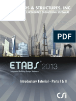 Introductory TutorialEtabs 2013