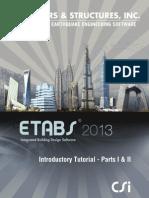 Introductory TutorialEtabs 2013