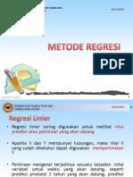 12-Metode Regresi