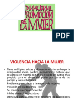 Violencia Hacia La Mujer