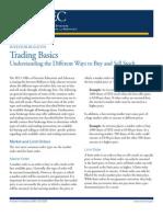 Trading Basics Trade4target