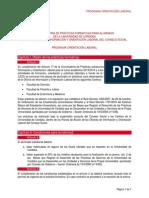 Convocatoria 2014 Extr Cienc f Letr y Enf y Med