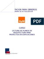 Curso Lectura de Planos de Arquitectura Para Obras de Edificacion
