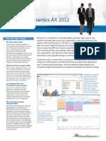 Microsoft Dynamics AX 2012 BE UK