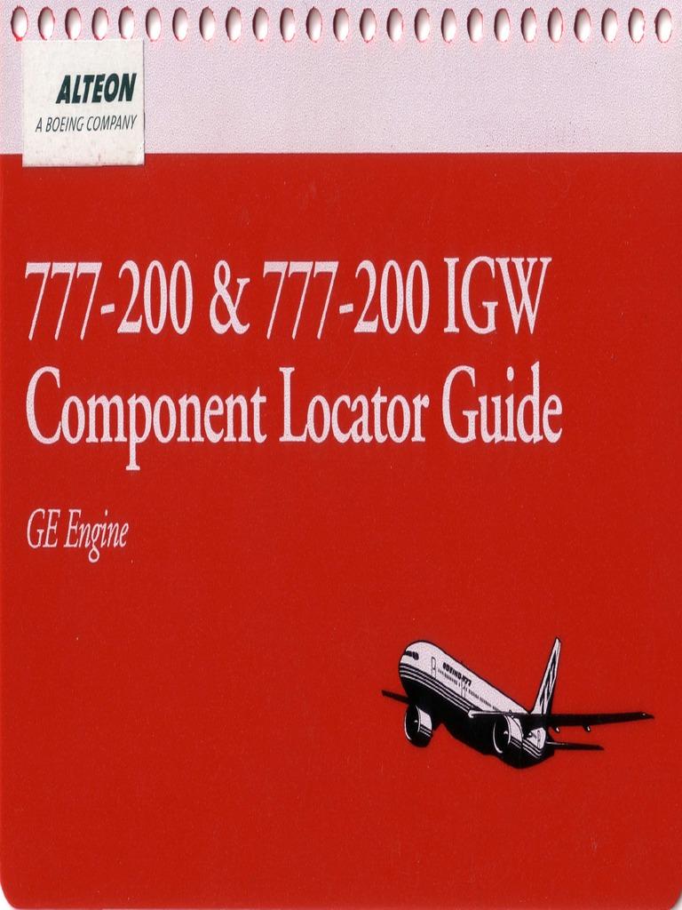 b777 200 component locator guide rh scribd com Delta B777 B777 Interior