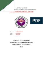 Laporan Static Structural Analysis
