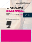 LG 1710B Service Manual