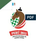 CIRCUITO NACIONAL DE AJEDREZ JUVENIL 2015
