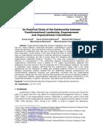 Jurnal Transformational Leadership, empowerment & organizational commitment.pdf