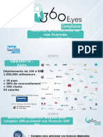 Présentation de la solution 360eyes compliance de comptage des licences business objects
