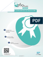 Datasheet 360eyes compliance comptage des licences sap bo