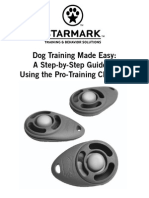 Starmark Clicker Training Made Easy
