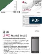 LG P700 Uputstvo