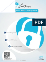 360view datasheet for business objects security