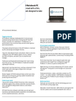 HP ProBook 430 Data Sheet May 2013