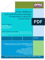 Quality in Early Childhood