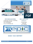 EPIC RESEARCH SINGAPORE - Daily SGX Singapore Report of 13th November 2014