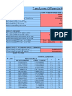 Transformer Differential Protection Calculation With Slope Characteristics v 1.0 (2003 Format)