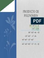 Producto polinomios
