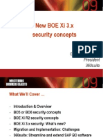 Bobj09_Xi3.x Security What is New