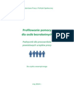 Profilowanie Pomocy Dla Osób Bezrobotnych