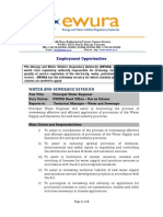 Job Advertsement- Nov 2014- Principal Water Engineer Cpro