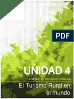 Unidad 4 Turismo