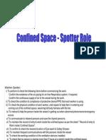Spotter Role