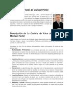 La Cadena de Valor de Micheal Porter