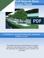 Atividade 3.2 - Traçando o histórico da relação escola/comunidade - Crurso E-proinfo 2014