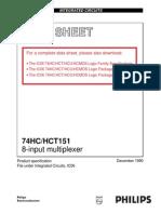 74HC151N multiplexor