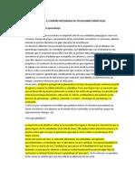 2 Diseño integrado de situaciones didácticas