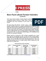 Bare Facts About Farmer Suicides