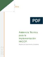 Plan de implementación de HACCP