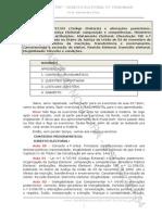 Direito Eleitoral - Exercícios - CESPE - Aula 01