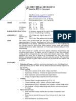 CIVIL211 Outline 2005
