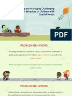 7 Understanding and Managing Challenging Classroom Behaviors of Children